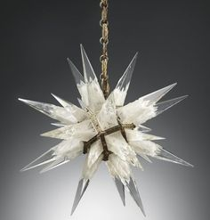 Vintage crystal chandelier - Christies auction