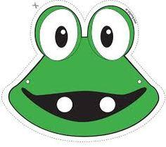Prentresultaat vir frog mask template