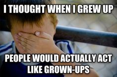 By far the biggest misconception of my childhood…