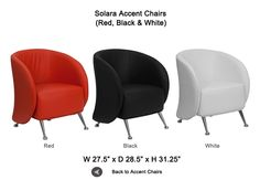Solara Accent Chairs