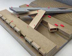 nexttoparchitects: Final reviews Dec2-6 sneak-peak! Citying the... Studios Architecture, Architecture Drawings, Concept Architecture, School Architecture, Landscape Architecture, Architecture Design, Architecture Models, Arch Model, Modelos 3d