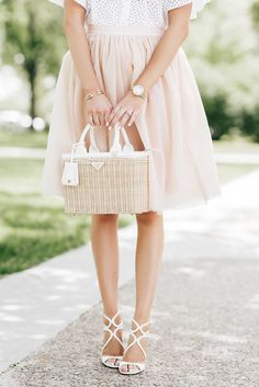 Summer Romance... - Pink Peonies by Rach Parcell - Fashion Outfit