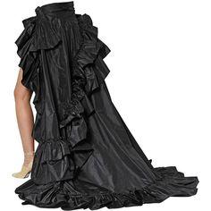 Roberto Cavalli Women Ruffled Silk Taffeta Layered Skirt ($4,425) ❤ liked on Polyvore featuring skirts, mini skirts, roberto cavalli and roberto cavalli skirts