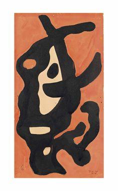 Fernand Léger (1881-1955) La racine noire Estimate GBP 30,000 - GBP 40,000 (USD 38,250 - USD 51,000)