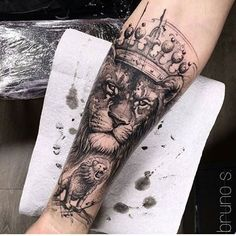 @ink.ig #liontattoos #liontattoo #tattoo