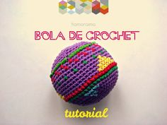 Tutorial bola de crochet * DIY crochet ball