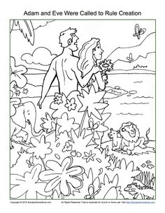adam and eve coloring page trublessings 3s god made people based on genesis 1 26 31 2 4 25. Black Bedroom Furniture Sets. Home Design Ideas