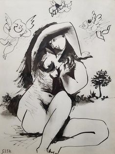 Pablo Picasso | La Comedie Humaine (1954) | Available for Sale | Artsy