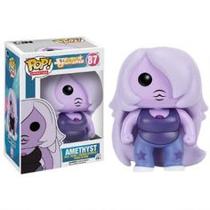 This Steven Universe Vinyl Pop figure features Amethyst, the fun and carefree Crystal Gem.