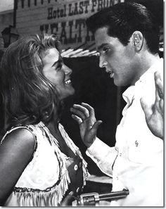 Ann-Margaret with Elvis in Viva Las Vegas, 1964.