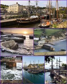 Charlestown (Cornish: Porth Meur, meaning great cove) is a village and port on the south coast of Cornwall in the parish of St Austell Bay. It is situated approximately 2 miles (3 km) south east of St Austell town centre. The port at Charlestown developed