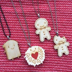 Any Wooden Brooch as a Necklace