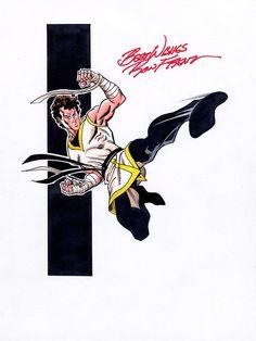 Karate Kid by Ron Frenz Comic Books Art, Comic Art, Book Art, Marvel Dc, Dc Comics, Legion Of Superheroes, Christopher Reeve, Fantasy Comics, Karate