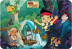 Jake & Neverland Pirates Placemat - Image May Vary