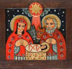 Christmas Icons, Christmas Images, Religious Icons, Religious Art, Christmas Illustration, Illustration Art, Image Jesus, Ukrainian Art, Biblical Art