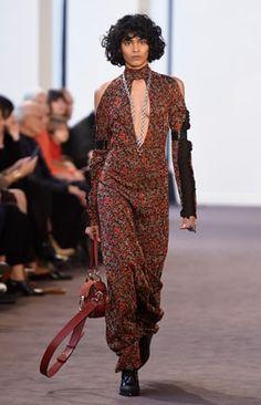 Natacha Ramsay Levi designer.  The autumn/winter 2018 Chloé show.