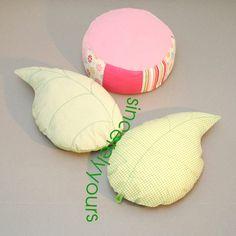 Kissen - Lieblings Blatt Kissen! - ein Designerstück von sincerelyyours bei DaWanda