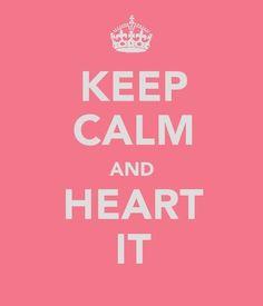 ... heart it....does that mean like it?
