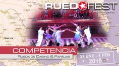 Ruedafest 2015 - Competencia: Rueda de Casino & Parejas de Salsa Casino -  31 de enero & 1 de febrero, 2015 (Jan 31st & Feb 1, 2015) - Guadalajara, Mexico  #ruedadecasino #competencia #salsacubana