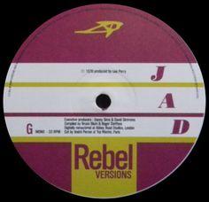 1998 - The Complete Bob Marley & Wailers 1967 To 1972 : Rebel Versions - Jad