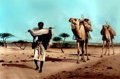Stunning pic! Somalia nomad