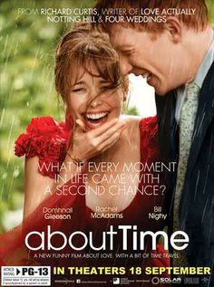 Feb. 2014. Loved the British element, the time travel and inspiring message. Domhnal Gleeson was great w/ Rachel McAdams. The Dad, Bill Nighy also great.