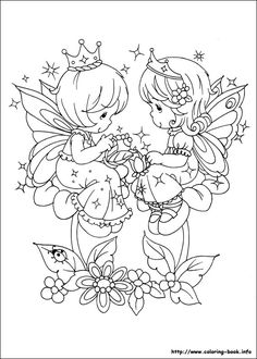 precious moments coloring book - Google Search
