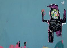 Jean-Michel Basquiat (1960-1988), The Lake, 1983.