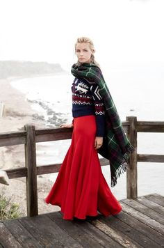Ralph Lauren Campaign Holiday 2013 - Valentina Zelyaeva by Richard Phibbs
