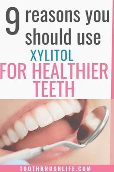 Xylitol for Healthy Teeth and Gums. Prevent Cavities with xylitol gum, mints and spray. Get rid of cavities and tooth decay. Advice by a dental hygienist. Health Benefits, Health Tips, Causes Of Bad Breath, How To Prevent Cavities, Healthy Teeth, Dental Hygienist, Oral Hygiene, Oral Health, Dentistry