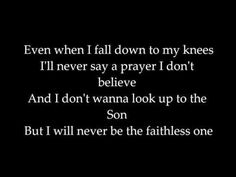 Faithless by bvb