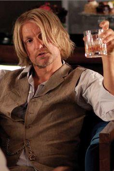 Haymitch Abernathy (Woody Harrelson) - The Hunger Games