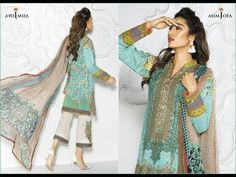 Asim Jofa Latest Premium Luxury Lawn New Dress Collection 2017