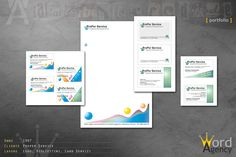 Proper Service - Logo, bigliettini, card servizi