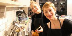 Vegan Queens Dinner in Hamburg mit Cathy Bernhardt (Happenpappen)