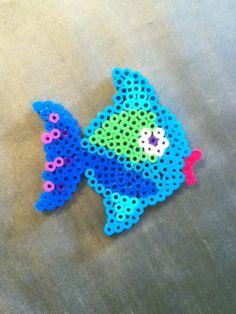 Fish hama beads by Anna