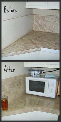 Finding Home: Painting Counter Tops: Complete Tutorial