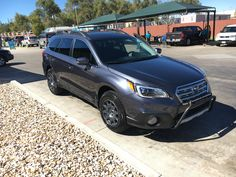 2017 Subaru Outback 2.5i Limited with Method Race Wheels, Baja Designs LED and Rally Innovations light bar.