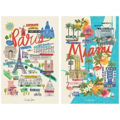 Carolyn Gavin brings the landmarks of cities scattered across the globe to life in her eye-catching prints.