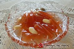 Greek Beauty, Marmalade, Greek Recipes, Punch Bowls, Pudding, Sweets, Desserts, Food, Syrup