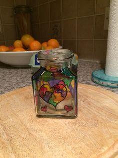 Tea light jar