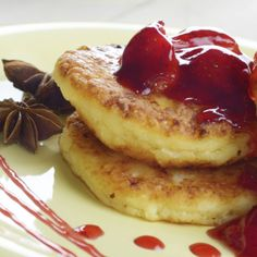 This cottage cheese pancake recipe is easy to make and so tasty.. Cottage Cheese Pancakes Recipe from Grandmothers Kitchen.