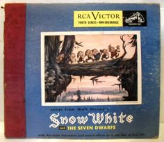 1949 RCA Victor Songs From Walt Disney Snow White  The Seven Dwarfs