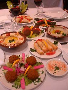 Lebanese Feast Set For Friends and Family  <3