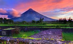 Manila Philippines. Mayon Volcano The ICONIC-MV by Jes Reyes on 500px