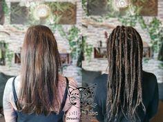 Bei Laura wurden in ca 14 Std diese wunderschönen Dreads mit Extensions erstellt. Vorher wurde gemeinsam mit der Kundin geschaut, wieweit der Pony vorne frei bleiben soll und dann gerade abgeteilt.   Dreaderstellung, neue Dreads, Dreadsberlin, dreads_berlin Dreadlocks, Dread Hairstyles, Extensions, Long Hair Styles, Berlin, Pony, Beauty, Hairstyles For Dreads, Nice Asses