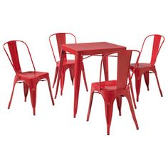 Contemporary Outdoor Dining Sets by eFurniture Mart