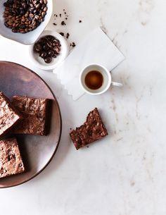 Recipe: Chocolate-Covered Espresso Bean Brownies - Kinfolk