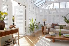 Thomas Sanderson Conservatory Shutters