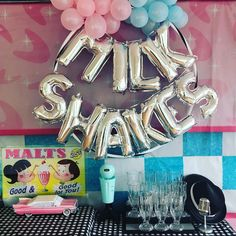"21 Likes, 3 Comments - This Little Party (@thislittleparty) on Instagram: ""Milkshake time!"""